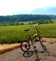 Bike Friday at Cades Cove