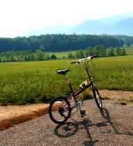 Bike Friday at Cades Cove