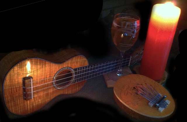 ukulele kalimba candlelight earth hour 2012